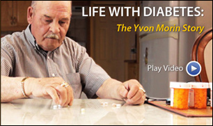 Life with Diabetes: The Yvon Marin Story